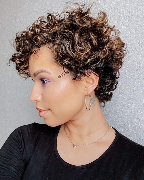 Elegant 29 short curly hairstyles to enhance your face shape Very Short Curly Hair Styles Inspirations