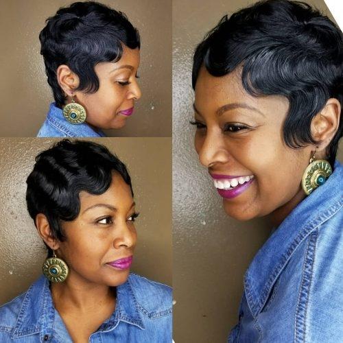 Stylish 27 hottest short hairstyles for black women for 2020 Short Styles For African American Hair Designs