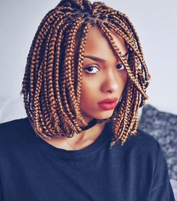 Trend bob braids 40 bob length braided hairstyles Bob Braid Hair Styles Inspirations