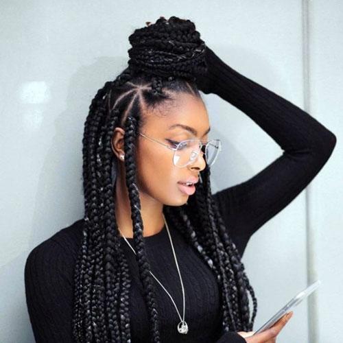 35 best black braided hairstyles for 2020 Black Braid Hair Styles Choices