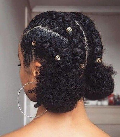 Awesome 35 natural braided hairstyles Natural Hair Braid Styles Ideas