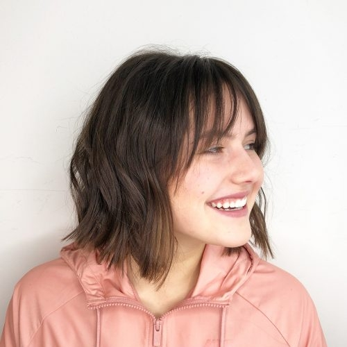 Awesome 41 flattering short hairstyles for long faces in 2020 Short Haircuts For Wavy Hair Long Face Choices