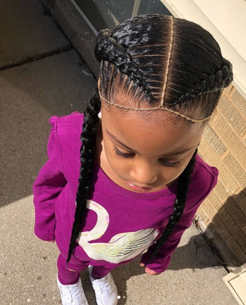 Awesome 5 simple easy braid style tutorials for little girls Child Hair Braiding Styles Ideas