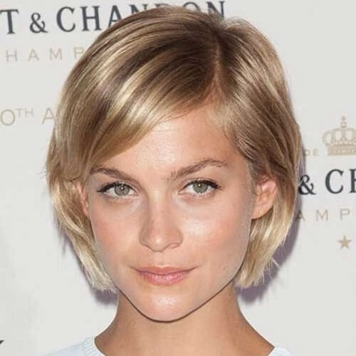 Best 50 short haircuts that solve all fine hair issues hair Short Bob Haircuts With Bangs For Fine Hair Ideas