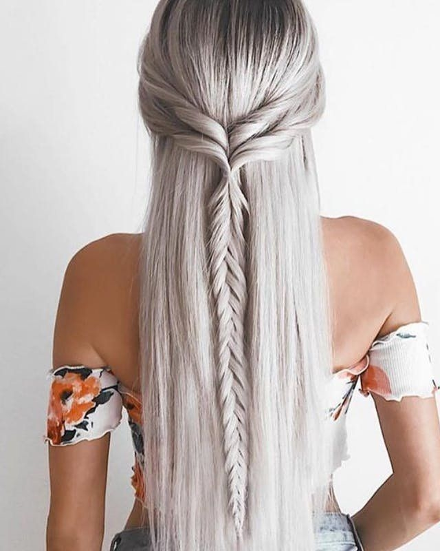 Best 9 creative straight hairstyles for fall hair styles long Hair Braids Styles For Long Hair Ideas
