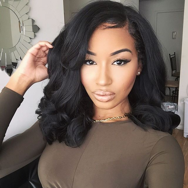 Cozy sew in weave hairstyles for black women hair styles wig Sew In Weaves Hairstyles African American Designs