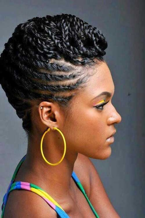 Elegant braids for black women with short hair Braided Natural Hair African Hairstyles Inspirations
