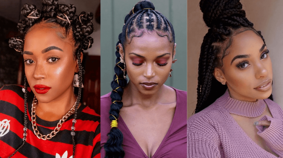 Fresh 105 best braided hairstyles for black women to try in 2020 French Braids Hairstyles For Black People Choices