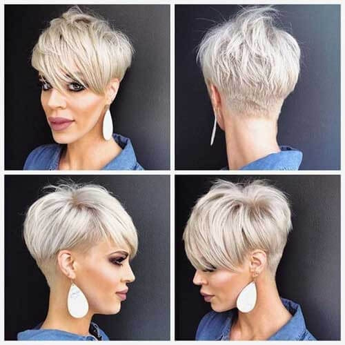 short pixie haircuts front and back view 15 Pictures Of Short Haircuts Front And Back Inspirations