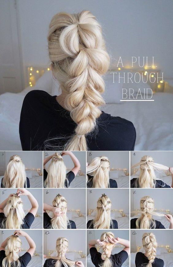 step step updo tutorials hair styles curly hair styles Simple Braided Hairstyles For Short Hair Step By Step Inspirations