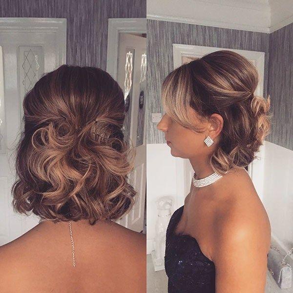 Stylish 101 short hair wedding styles 2020 stunning and short and Short Hair Wedding Styles Pictures Ideas