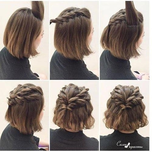 Stylish 20 incredible diy short hairstyles a step step guide Simple Hairstyles For Very Short Hair Step By Step Choices