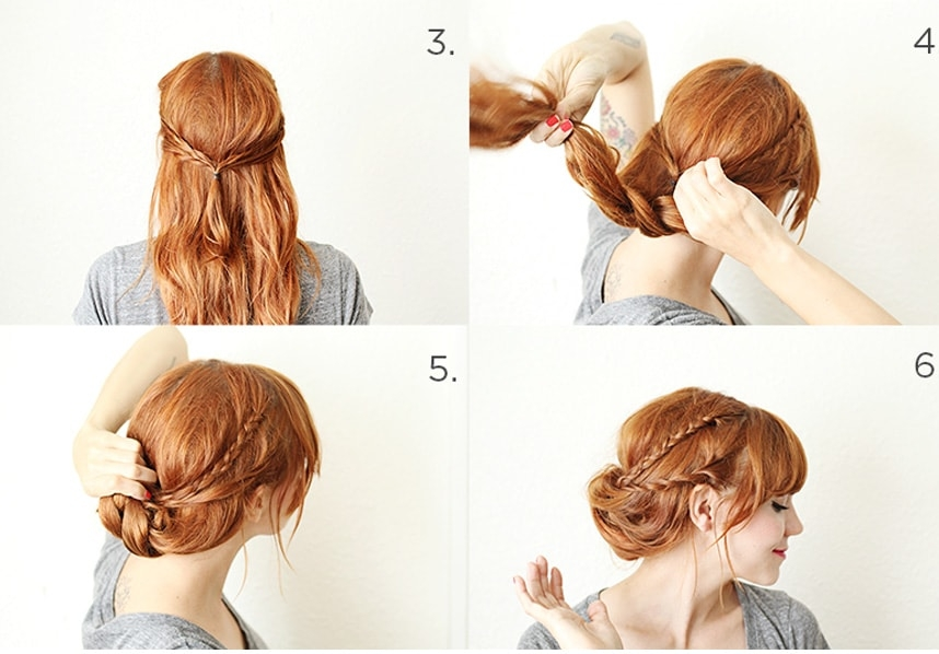 Stylish 21 braids for long hair with step step tutorials Braided Updos For Long Thick Hair Ideas