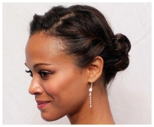 Stylish cute updos for short hair african american hair Updos For Short Hair African American Ideas