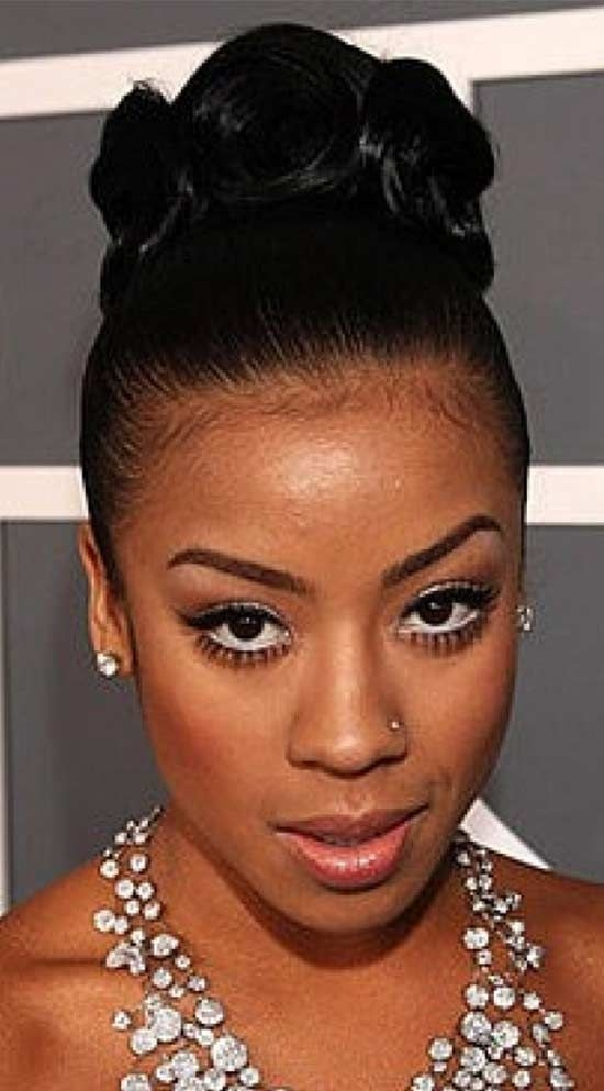 Stylish top 15 trendy updo hairstyle for black women that look great African American Up Hairstyles Designs