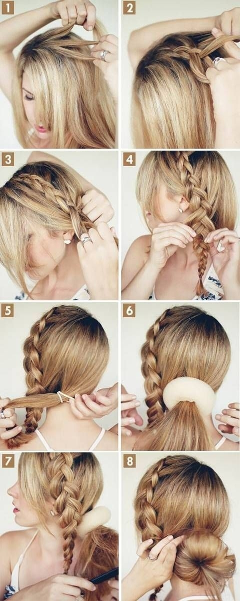 Trend 15 cute hairstyles step step hairstyles for long hair Cute Hairstyle For Short Hair Step By Step Inspirations