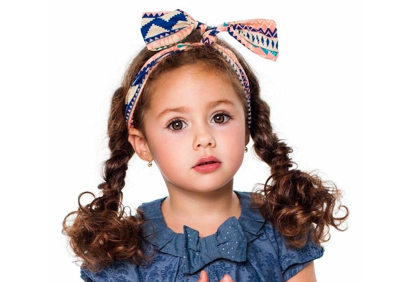 Trend 19 cutest hairstyles for curly hair girls little girls Cute Little Girl Hairstyles For Short Curly Hair Inspirations