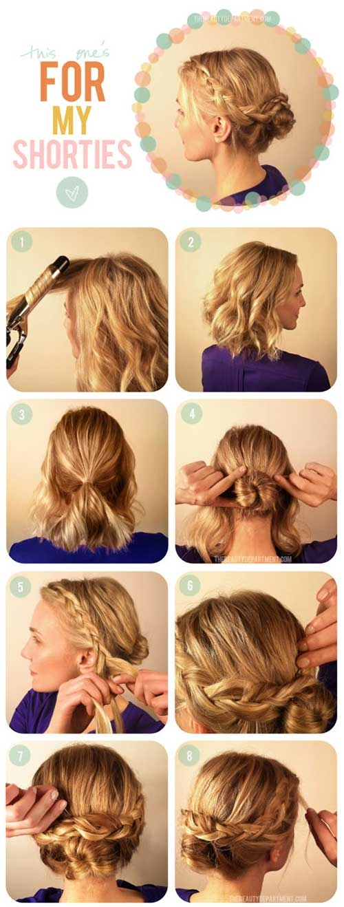Trend 20 incredible diy short hairstyles a step step guide Cool Quick Hairstyles For Short Hair Inspirations