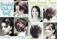 10 fabulous hair tutorials for short hair Hairstyles Tutorials Short Hair Inspirations