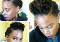 13 natural hair updo hairstyles you can create Quick Updos For Short Natural Hair Inspirations