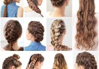 15 cute and easy french braid hairstyles you need to try Different Hair Braid Styles Inspirations