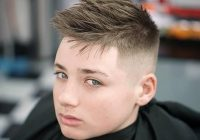 15 teen boy haircuts that are super cool stylish for 2020 Short Hair Hairstyles Boys Inspirations