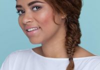 16 easy and modern hairstyles for thick curly hair Cute Braid Styles For Thick Hair Choices