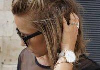 25 stunning messy buns for short hair 2020 trends Short Hair Bun Styles Ideas