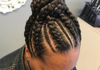 66 of the best looking black braided hairstyles for 2020 Hair Style With Braid Ideas