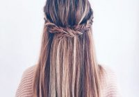Awesome 10 super trendy easy hairstyles for school popular haircuts Easy Braided Hairstyles For Medium Long Hair Inspirations