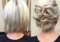 Awesome 20 gorgeous prom hairstyle designs for short hair prom Hair Styles For Short Hair For Prom Ideas