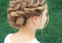 Awesome 29 gorgeous braided updos for every occasion in 2020 Loose Braid Updo Long Hair Choices