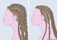 Awesome 3 ways to braid african american hair wikihow French Braid African American Black Hair
