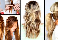 Awesome 30 cute and easy braid tutorials that are perfect for any Braid Hairstyles Step By Step With Pictures Choices