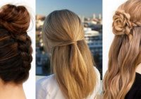 Awesome 41 diy cool easy hairstyles that real people can do at home Easy Braided Hairstyles To Do At Home Step By Step Ideas