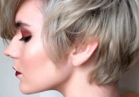 Awesome 57 blonde short hairstyles for round faces Short Haircuts For Thick Hair And Round Face Ideas