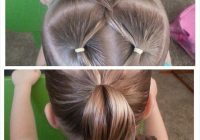 Awesome a simple way to add pizzazz to a simple ponytail braids Hair Styles For Kids With Short Hair Choices