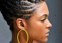 Awesome braids for black women with short hair Updo Braid Styles For Black Hair Choices