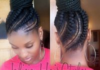 Awesome cornrow updo hair styles natural hair styles braided Updo Braid Styles For Black Hair Inspirations