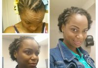 Awesome front braided twa hairstyle hair beauty natural Twa Braid Hairstyles Choices