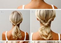 Awesome hair style 5 super easy updo hairstyles tutorials hair Everyday Updo Hairstyles For Short Hair Choices