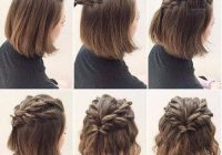 Awesome hairstyles for short hair twisted hair styles easy Cute Hairstyles For Short Hair Easy To Do Choices