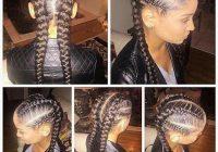Awesome me encantan trenza africana hair styles braided French Braid African American Black Hair Ideas