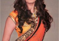 Awesome pin auf hairstyles for women Short Curly Hairstyles For Saree Choices