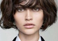 Awesome pin on hair Short Haircuts With Bangs For Thick Hair Choices