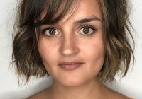Awesome short hair for a round face 40 brand new ideas badoll Short Hairstyle For Round Face Inspirations