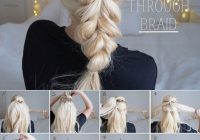 Awesome step step updo tutorials hair styles curly hair styles Easy Hairstyles For Long Hair Braids Step By Step Ideas