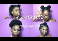 Awesome super cute hairstyles for short natural hair half up Hairstyles For Short Hair Black Naturally Choices