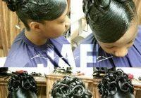 Best 092714 black hair updo hairstyles natural hair styles Updo Hairstyles Natural African American Hair