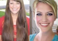 Best 110 before after short hair photos long to short hair Long Short Hair Styles Choices